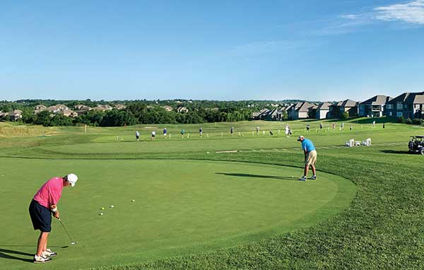 Practice facility at Creekmoor GC (Photo: Creekmoor GC)