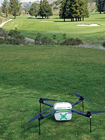Drone ready for launch (Photo: Kevin Hauschel)