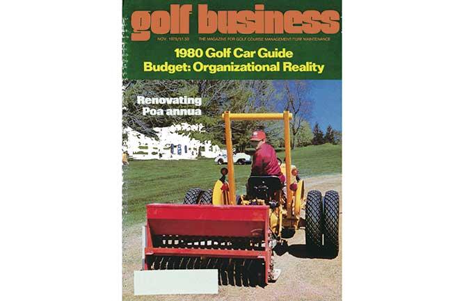 November 1979 cover (Photo: Golfdom archives)