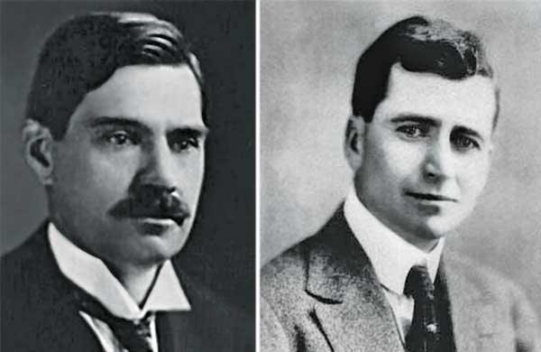 Charles V. Piper, Ph.D., and Russell A. Oakley, Ph.D. (Photo courtesy of USGA Green Section)