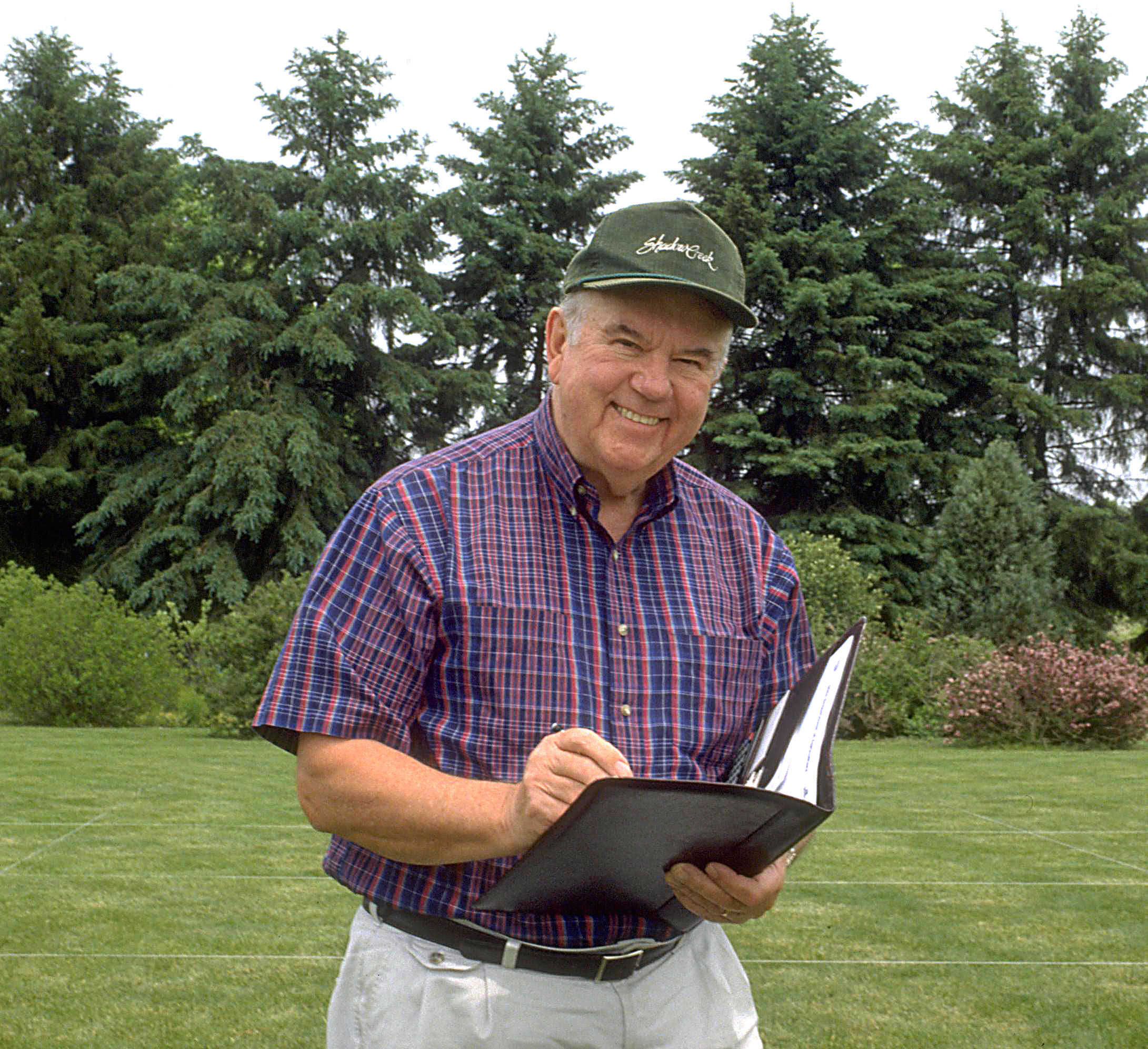 Harry Niemczyk, Ph.D., professor, The Ohio State University. (Photo courtesy of David Shetlar)