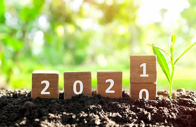 2021 replacing 2020 (Photo: John Kevin / iStock / Getty Images / Getty Images Plus)