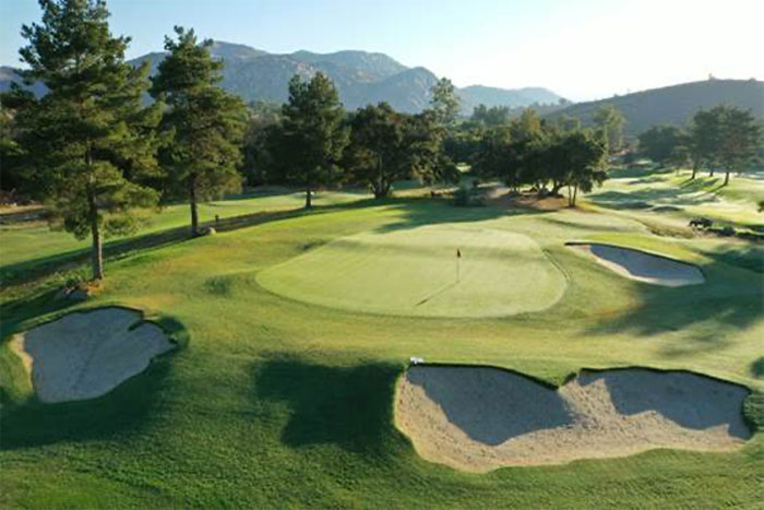 San Vicente Golf Resort No. 4 hole. (Photo: Michael Gainey, PGA)