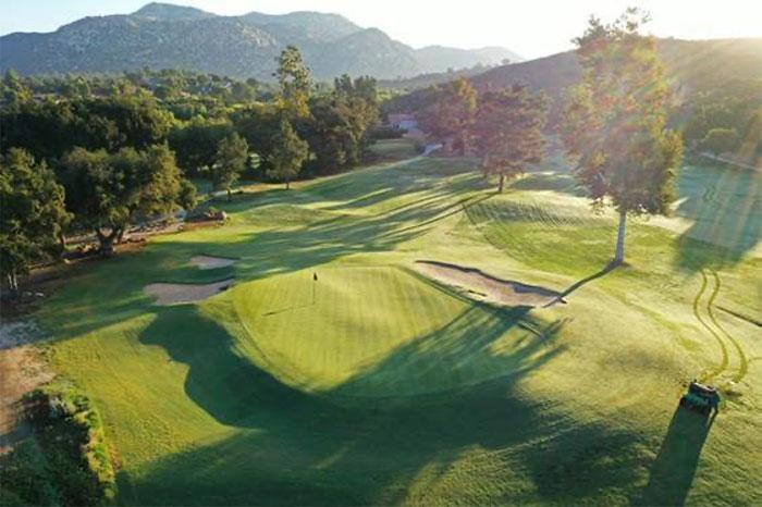 San Vicente Golf Resort No. 8 hole. (Photo: Michael Gainey, PGA)