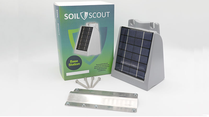 Soil Scout's new off-grid capable BST200 Base Station. (Photo: Soil Scout)
