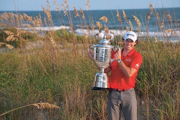 Rory McIlroy after an eight-stroke victory at the Ocean Course in 2012. (Photo: PGA of America)
