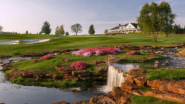 Designed by Tom Fazio the course has hosted multiple tournaments throughout its time. (Photo courtesy of Turning Stone Resort Casino)