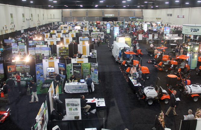 Carolinas GCSA Conference and Show in 2014. (Photo courtesy of Golfdom Staff)