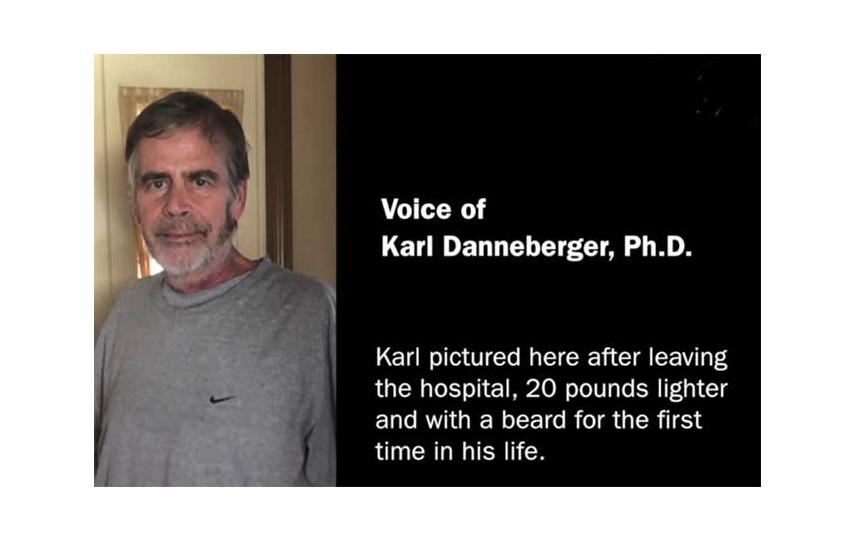Karl Danneberger after surviving COVID-19 (Photo courtesy of Karl Danneberger)