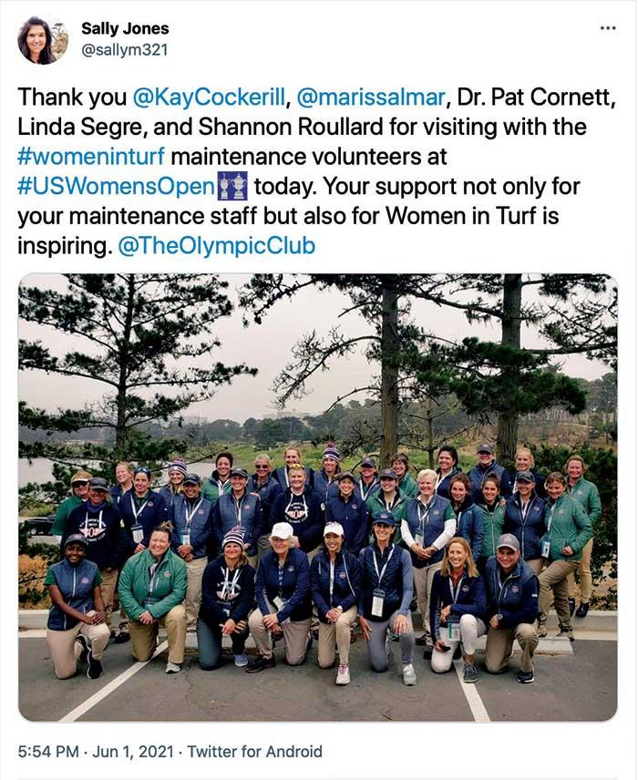Screencap: Golfdom Staff