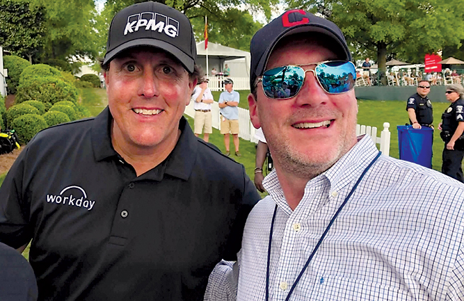 A photo of Mickelson with Golfdom Publisher Craig MacGregor helped soften Seth's icy take on the surprise 2021 PGA Championship winner.