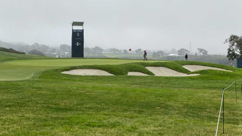 No. 5 on Torrey Pines South Course. (Photo: Golfdom Staff)