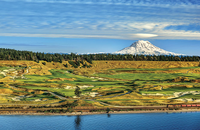 The GreenKeeper app's technology helps keep Chambers Bay GC in University Place, Wash., in pristine condition. (Photo: MillerBrown Photography)
