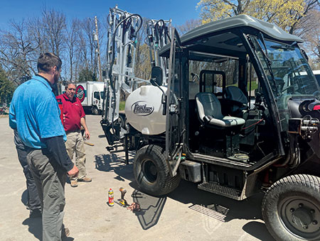 Sprayer with Frost technology (Photo: Frost)