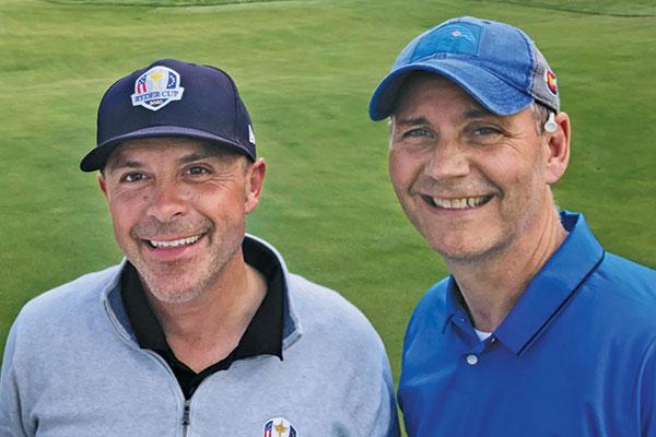 Chris Zugel, CGCS, and Bill Roddy (Photo: Golfdom Staff)