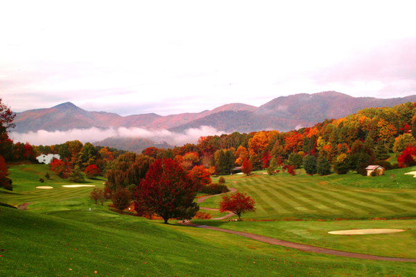 Located near Great Smoky Mountains National Park, the course will undergo a renovation led by Bobby Weed Golf Design. (Photo courtesy of Waynesville Inn Golf Club)
