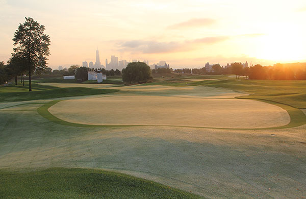 Liberty National GC during the 2017 President's Cup (Photo: Golfdom Staff)