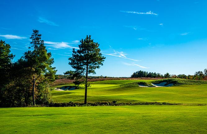 Hole No. 15 at Cutalong. (Photo courtesy of Mike Klemme)