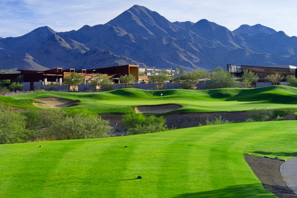 Hole No. 14 at McDowell Mountain Golf Club. (Photo courtesy of Arcis Golf)