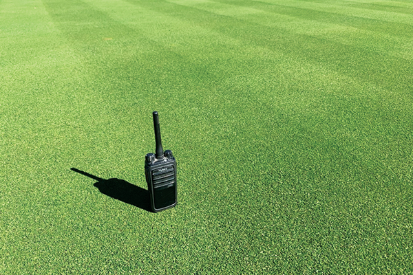 A shot of the 007XL bentgrass nursery at Colonial Country Club in Fort Worth, Texas. (Photo Courtesy: Richard Hurley)