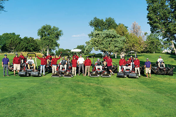 Valley Country Club in Aurora, Colo., has relied on the younger generation to help fill the labor gap. (Photo: Zach Bauer)