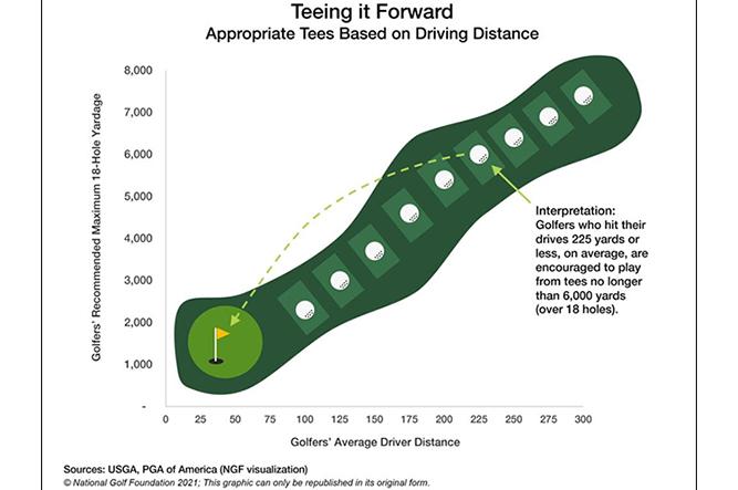 Tee it Forward (Chart: National Golf Foundation)