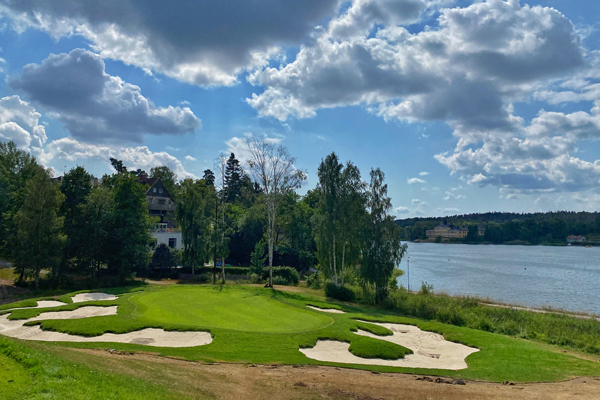 Stockholms Golfklubb is set to reopen in May following the renovation project, just before the course turns 90 in June. (Photo courtesy of Capillary Bunkers)